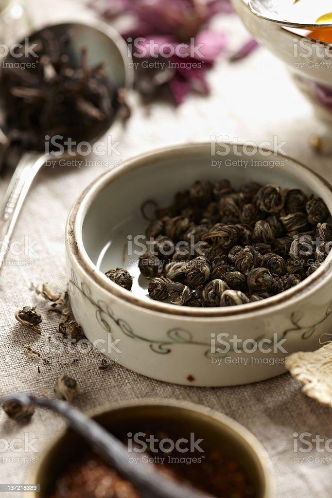 Jasmine Tea Pearls royalty-free stock photo