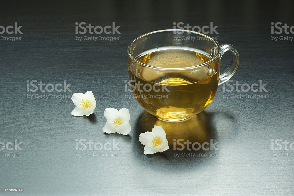 Jasmine tea royalty-free stock photo