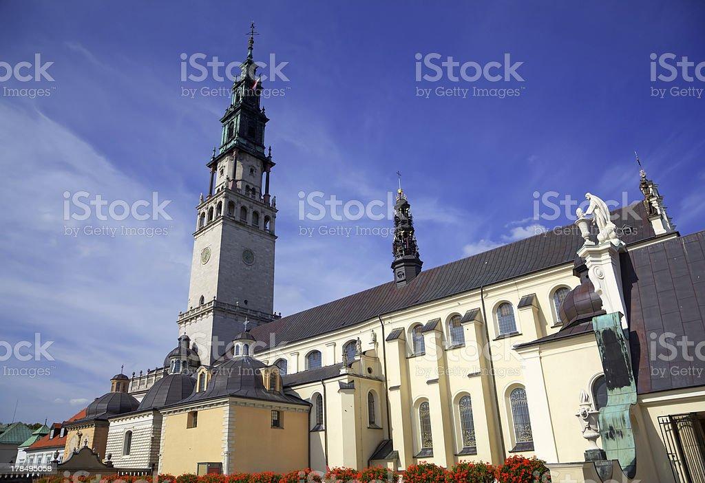 Jasna Gora Monastery. Czestochowa, Poland stock photo