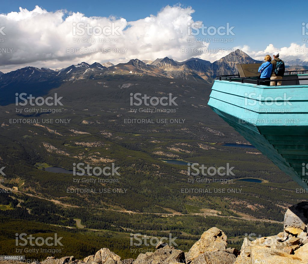 Jasper National Park - Canada stock photo