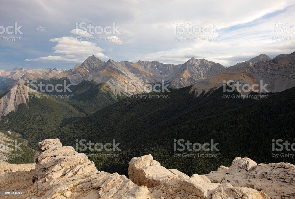 Jasper National Park royalty-free stock photo