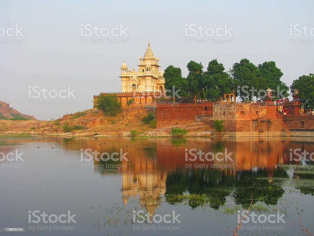 Jaswant Thada, a small Taj Mahal royalty-free stock photo
