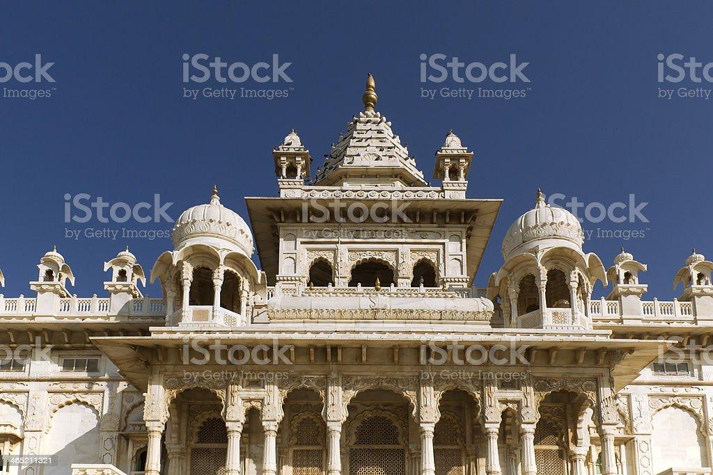 Jaswant Thada, a small Taj Mahal stock photo