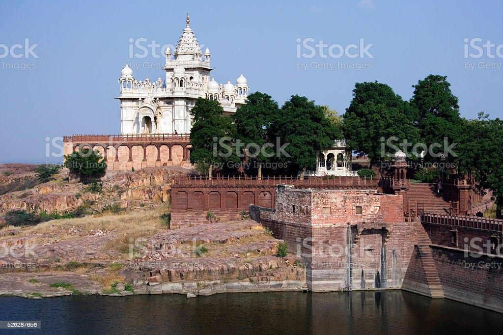 Jaswant Thada Cenotaph - Jodhpur - India stock photo