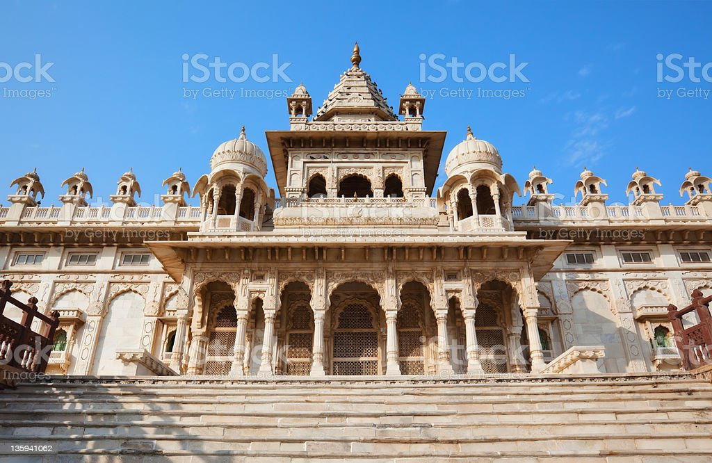 Jaswant Thada In Jodhpur, India stock photo