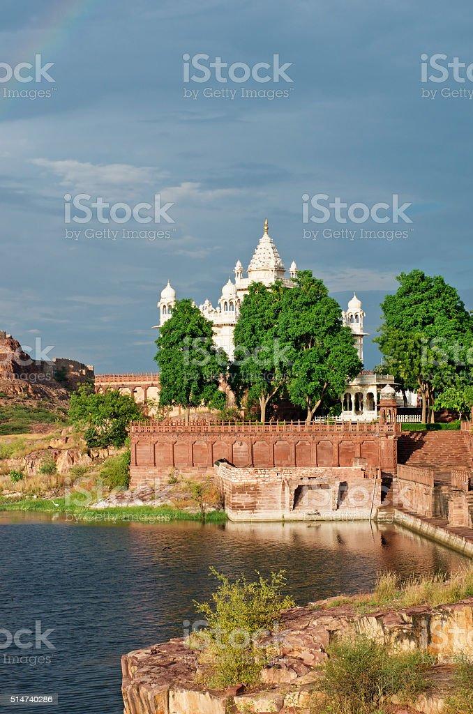 Jaswant Thada in Jodhpur. India stock photo