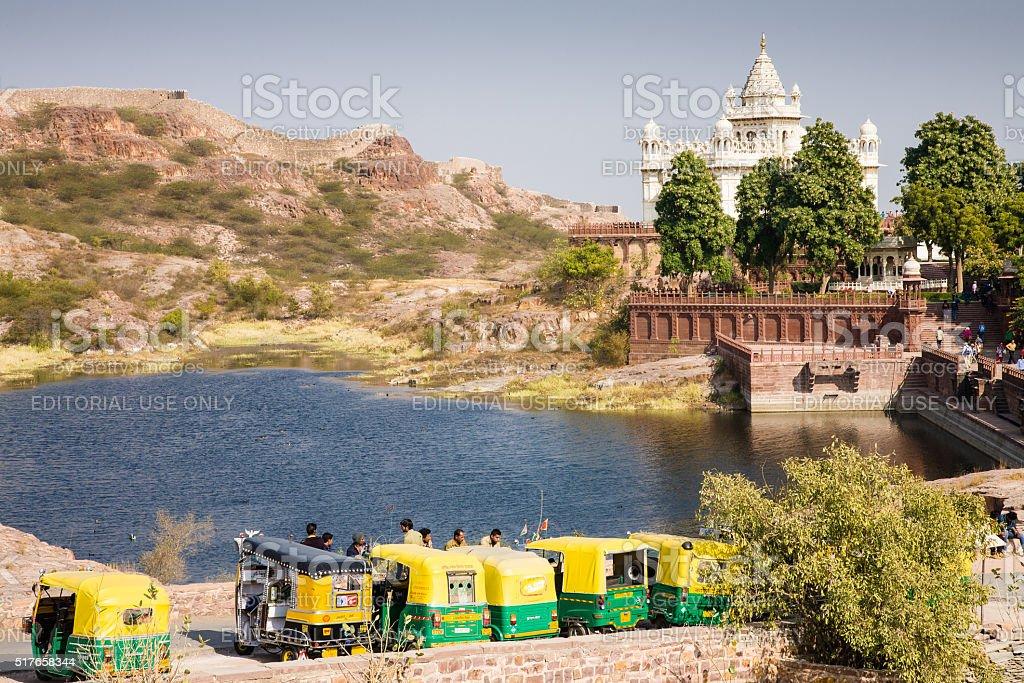 Jaswant Thada, Jodhpur stock photo
