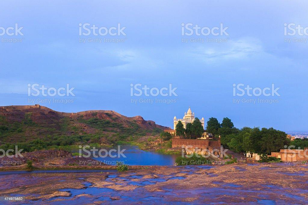Jaswant Thada, Jodhpur, Rajasthan, India stock photo