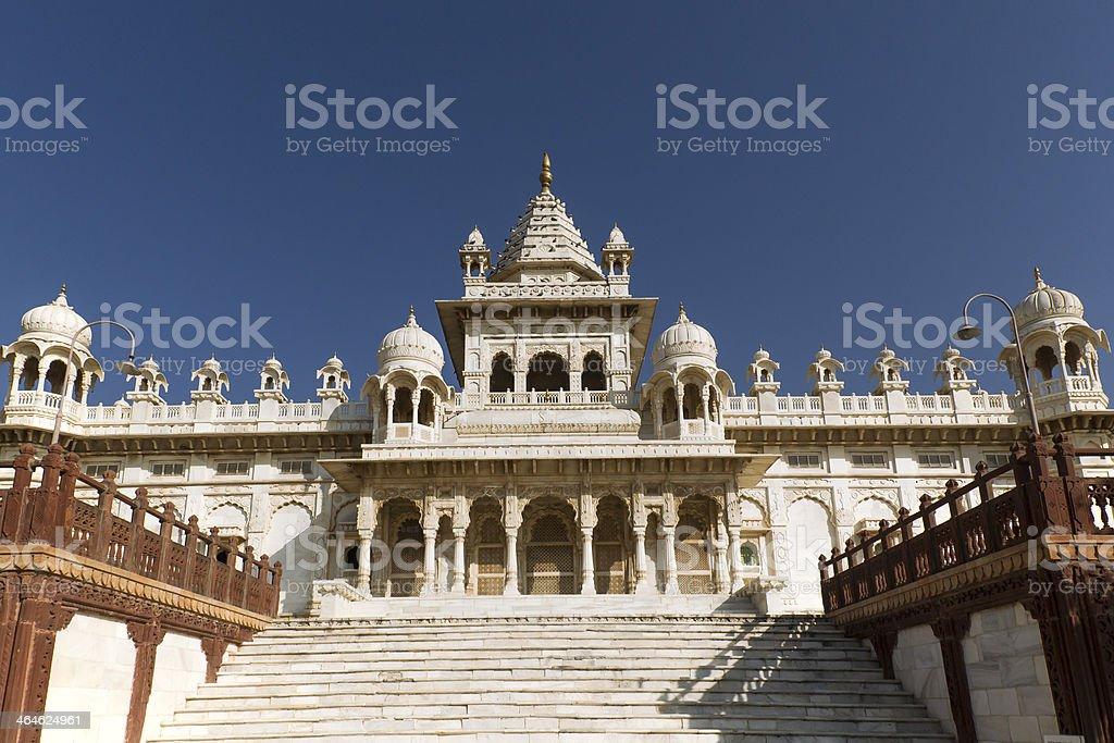 Jaswant Thada mausoleum in India stock photo