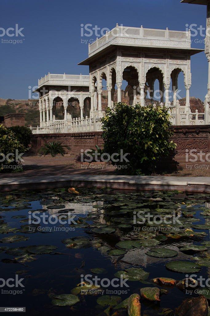 Jaswant Thada mausoleum in Jodhpur, India stock photo