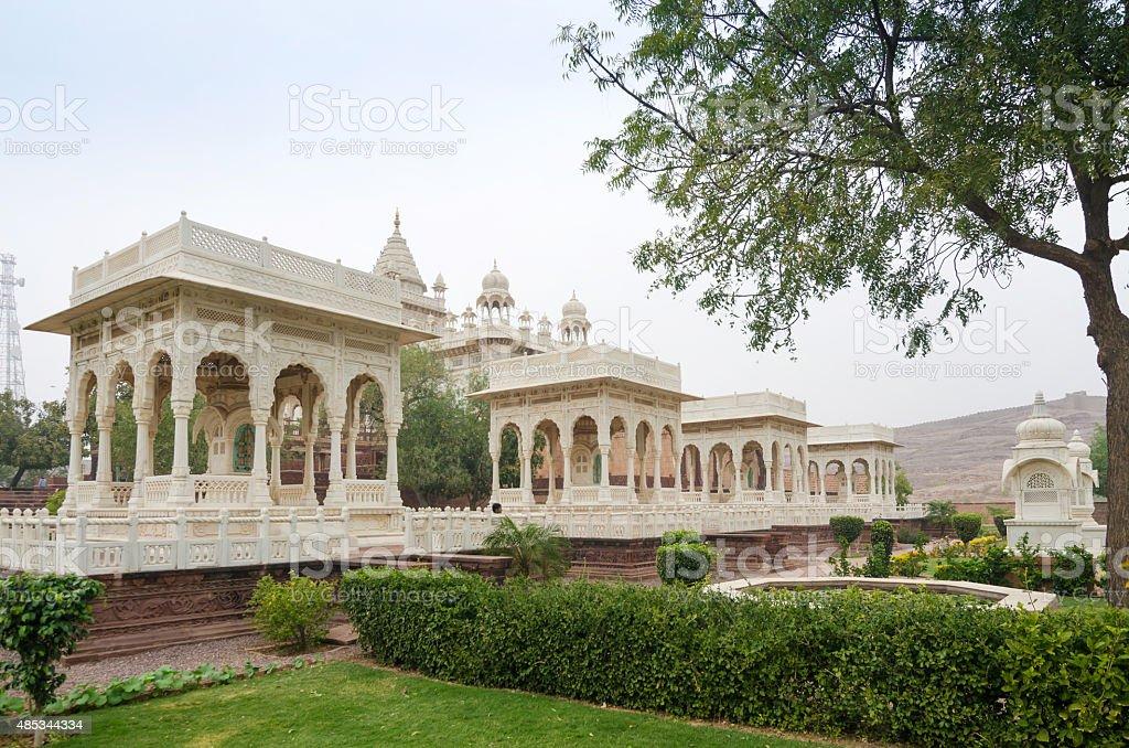 Jaswant Thada mausoleum, Jodhpur stock photo