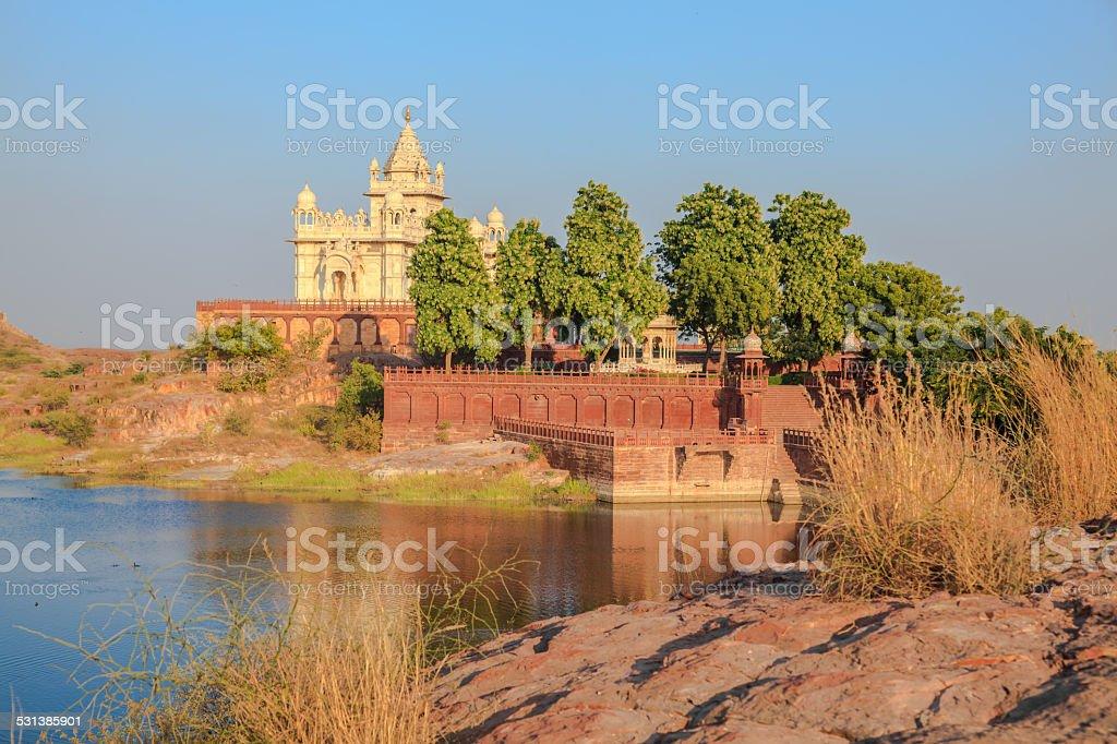 Jaswant Thada Mausoleum stock photo