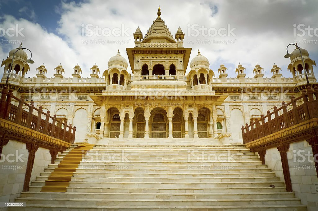 Jaswant Thada royalty-free stock photo