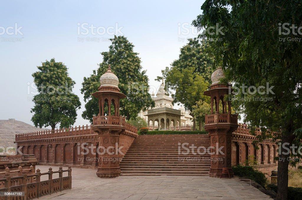 Jaswant Thada rajah memorial in Jodhpur stock photo