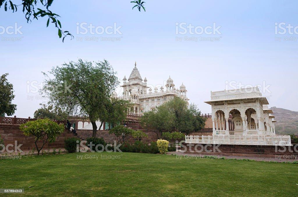 Jaswant Thada temple, Jodhpur stock photo