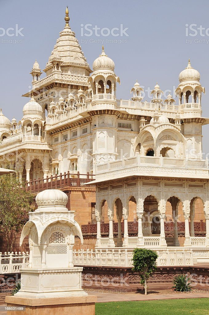 Jaswant Thada,Jodhpur,Rajasthan,India. stock photo