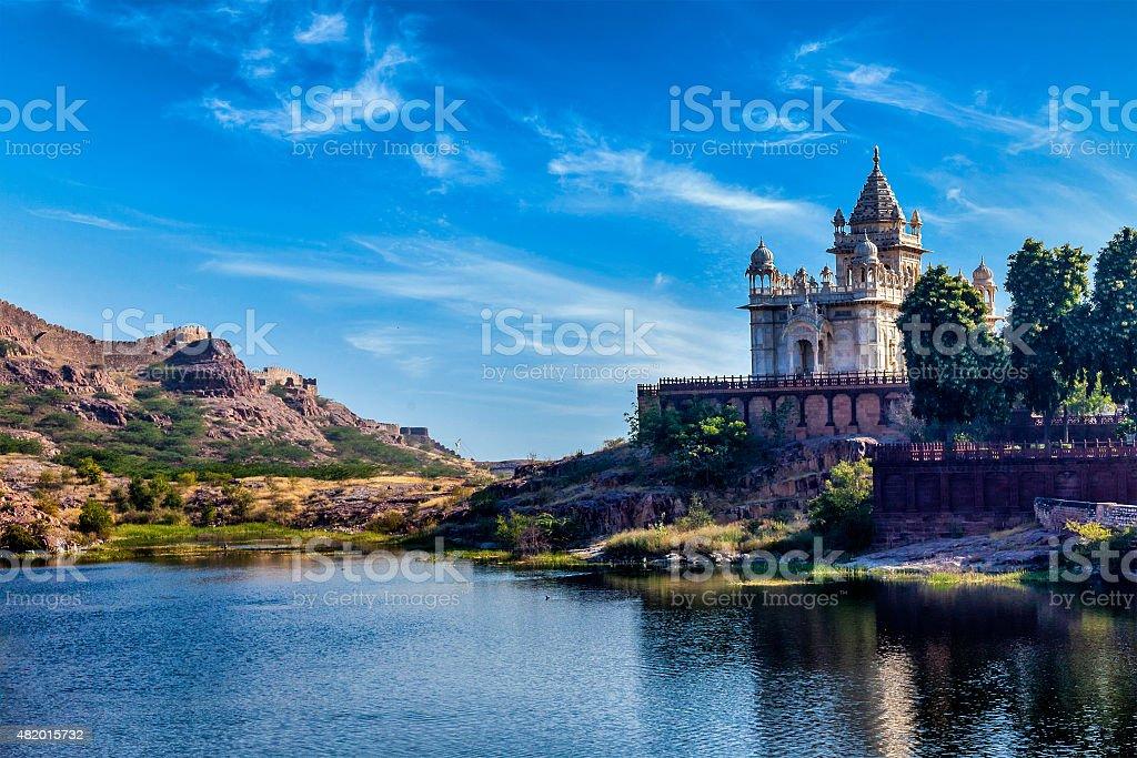 Jaswanth Thada mausoleum, Jodhpur, Rajasthan, India stock photo