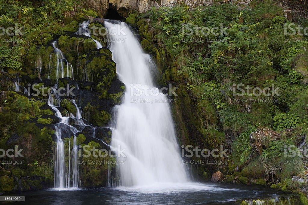 Jaun Waterfall royalty-free stock photo