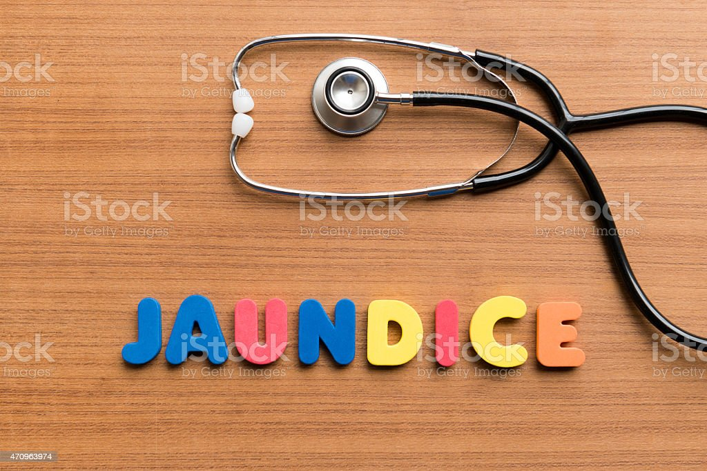 jaundice stock photo