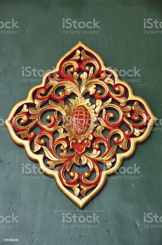 Java Carving stock photo