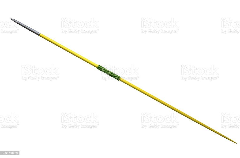 Javelin Isolated stock photo