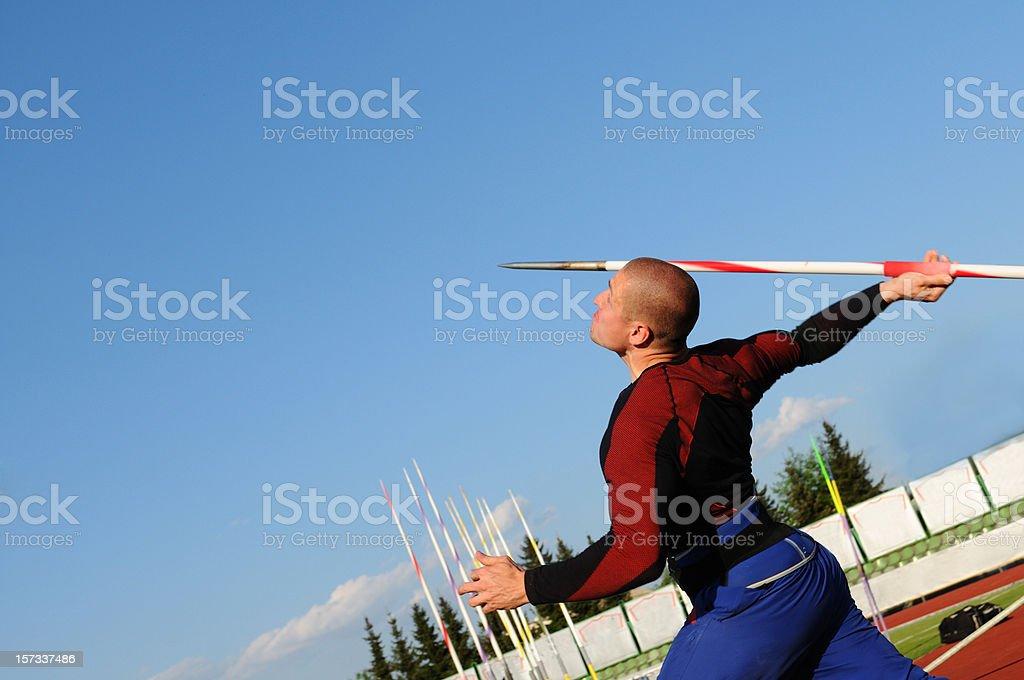 Javelin stock photo