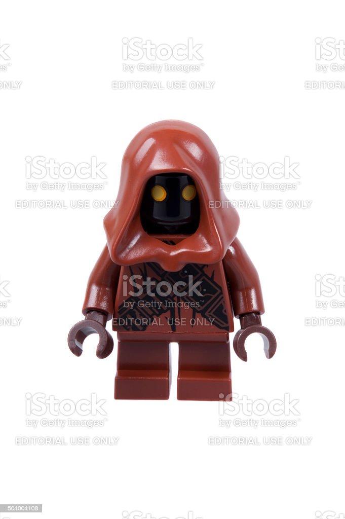 Jawa Christmas Lego Minifigure stock photo