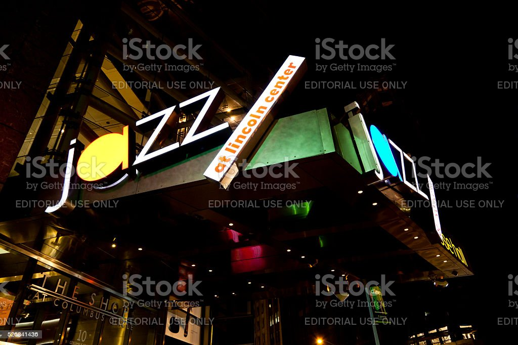 Jazz at Lincoln Center stock photo