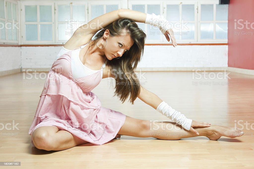 Jazz Ballet dancer royalty-free stock photo