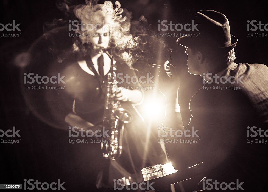 Jazz band stock photo