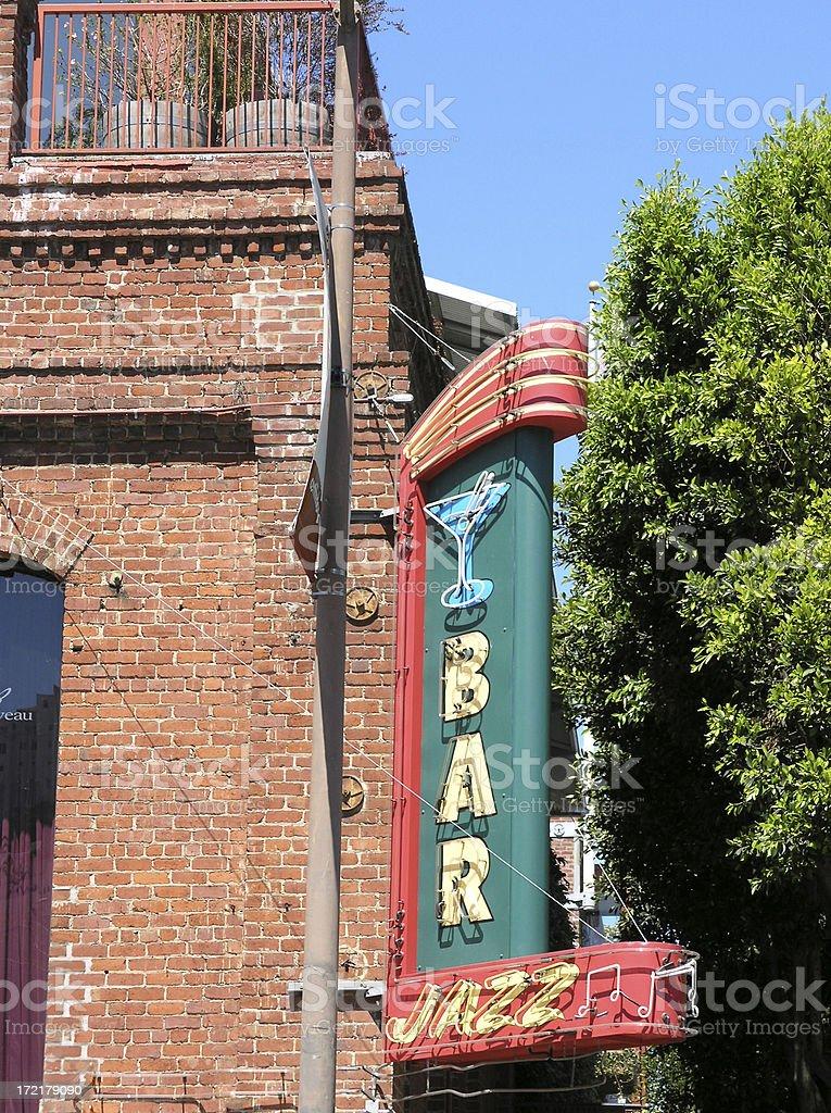 Jazz Bar royalty-free stock photo