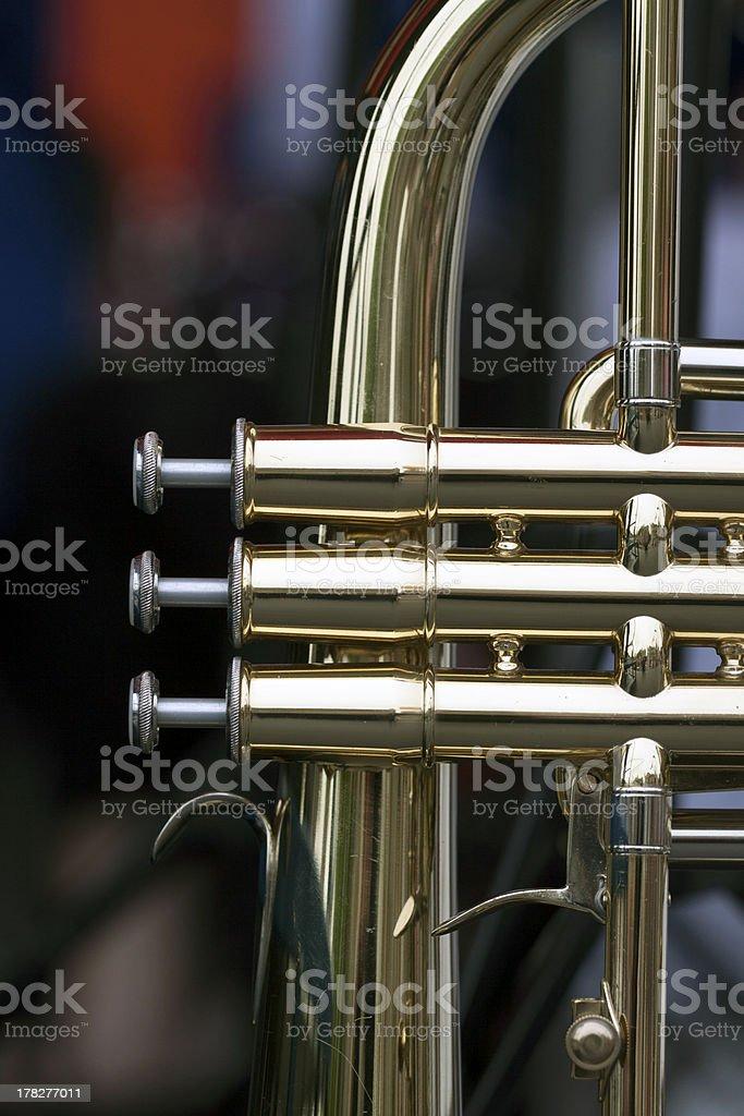 Jazz instrument royalty-free stock photo
