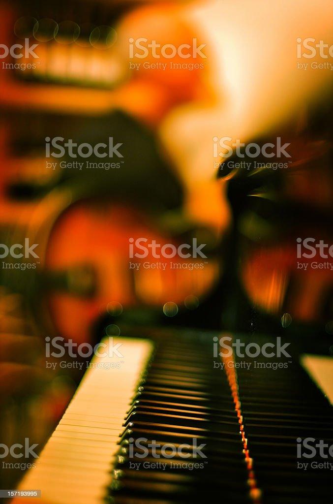 Jazz jam session royalty-free stock photo