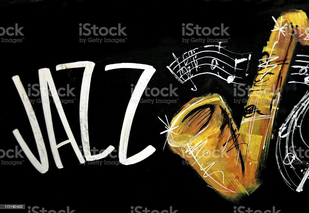 Jazz Music stock photo