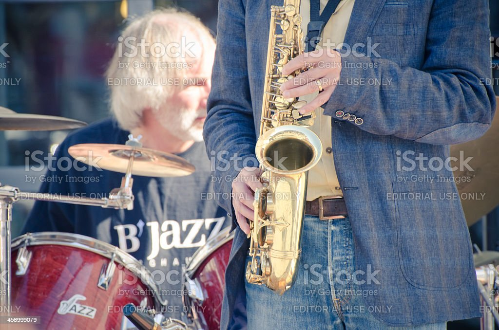 B' Jazz stock photo