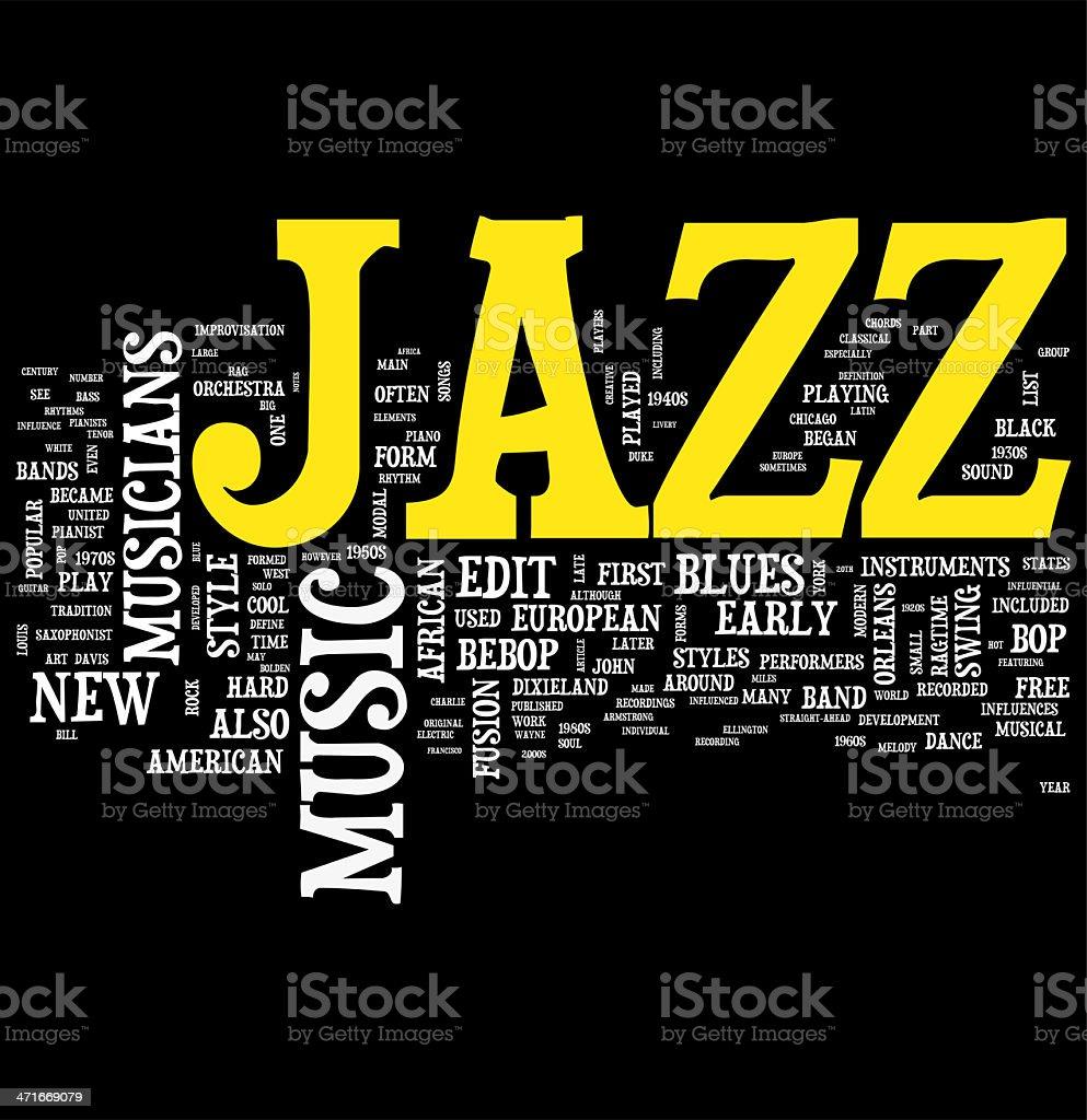 Jazz royalty-free stock photo