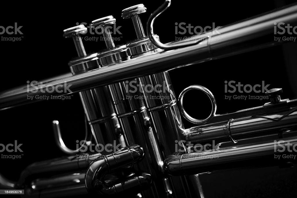 Jazz Trumpet royalty-free stock photo