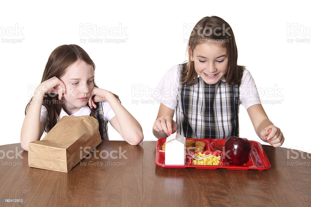 Jealousy royalty-free stock photo