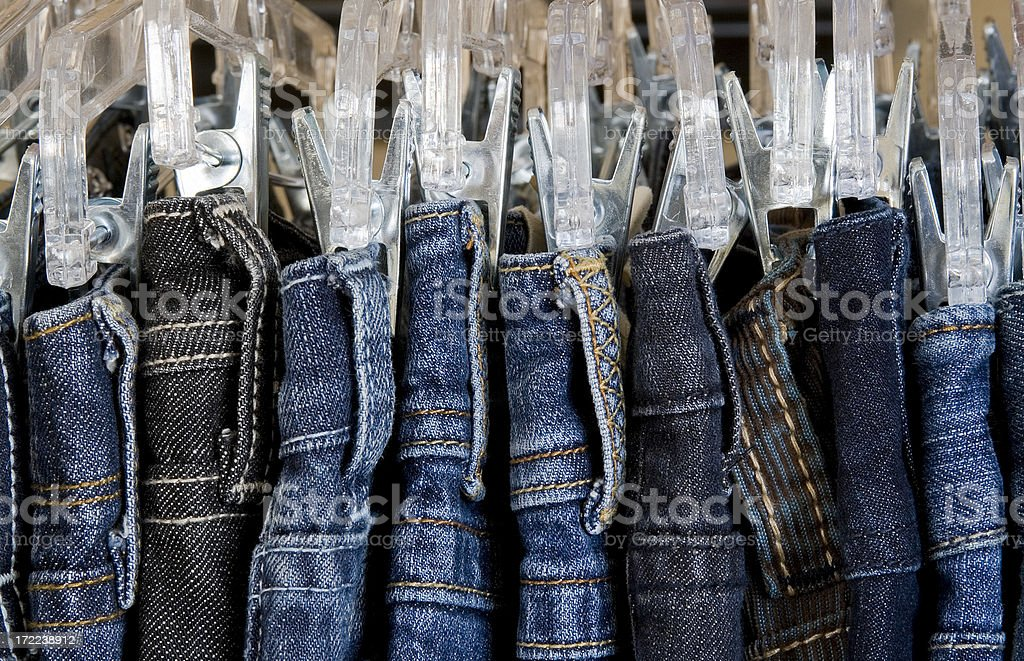 Jean Rack royalty-free stock photo