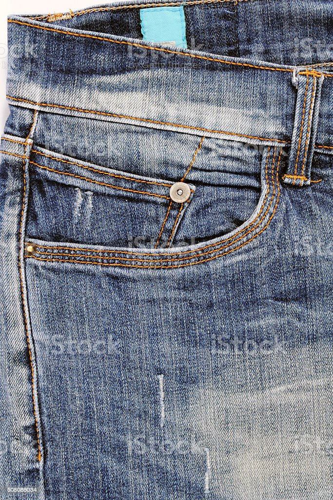 Jeans for men stock photo