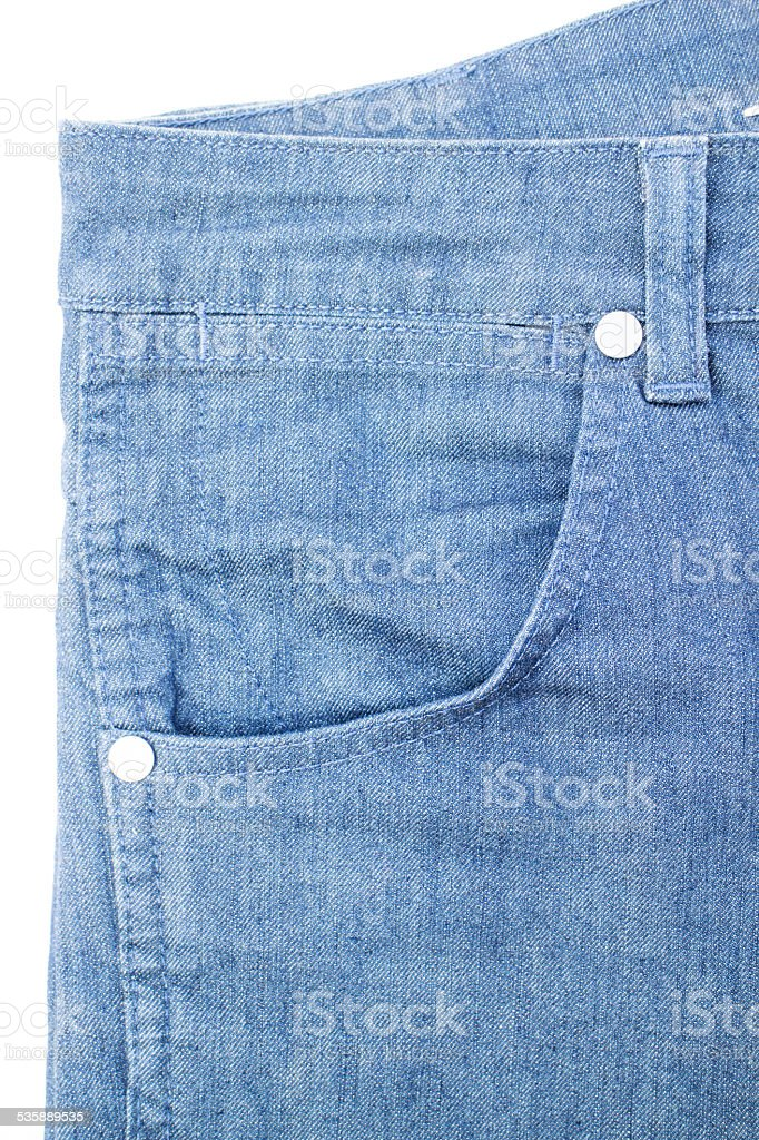 jeans isolated white background stock photo