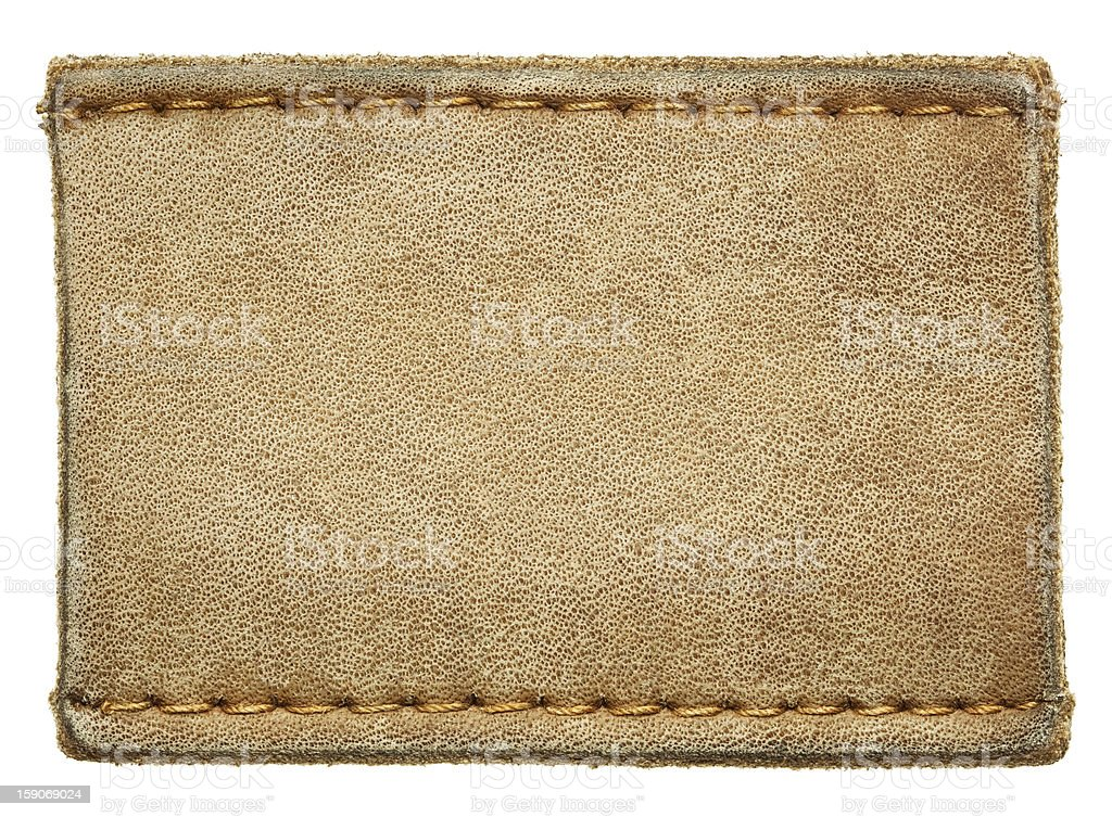 Jeans label royalty-free stock photo