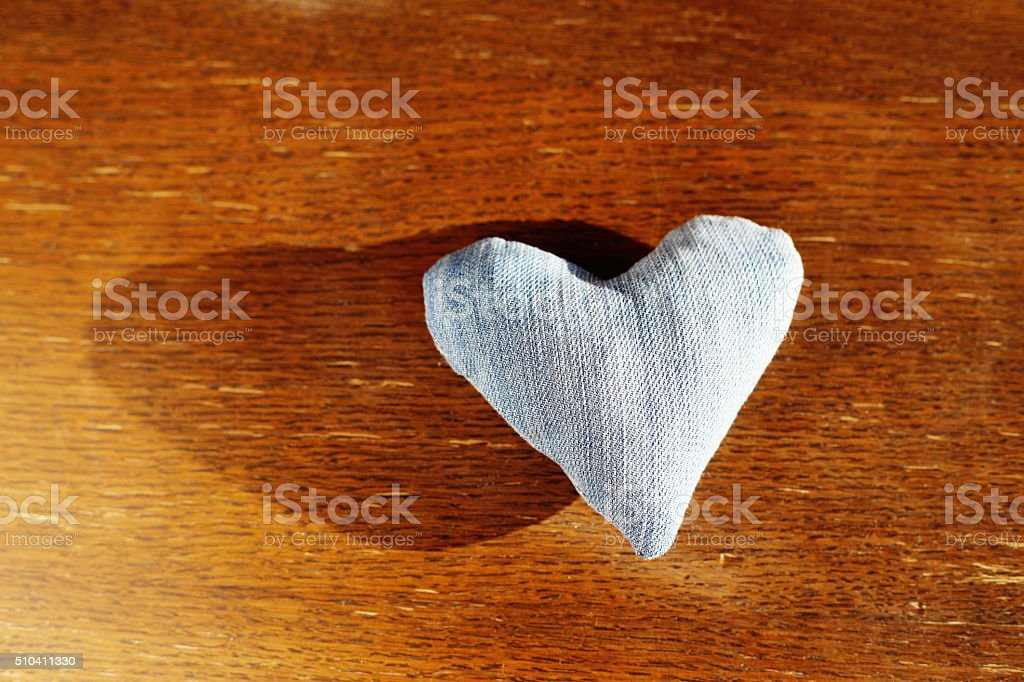 jeans love heart royalty-free stock photo
