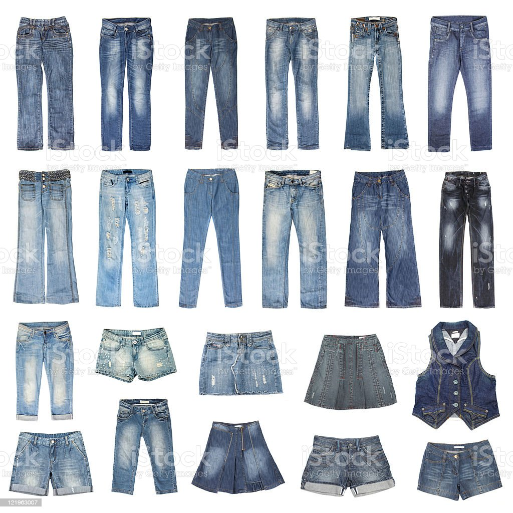 Jeans mode stock photo