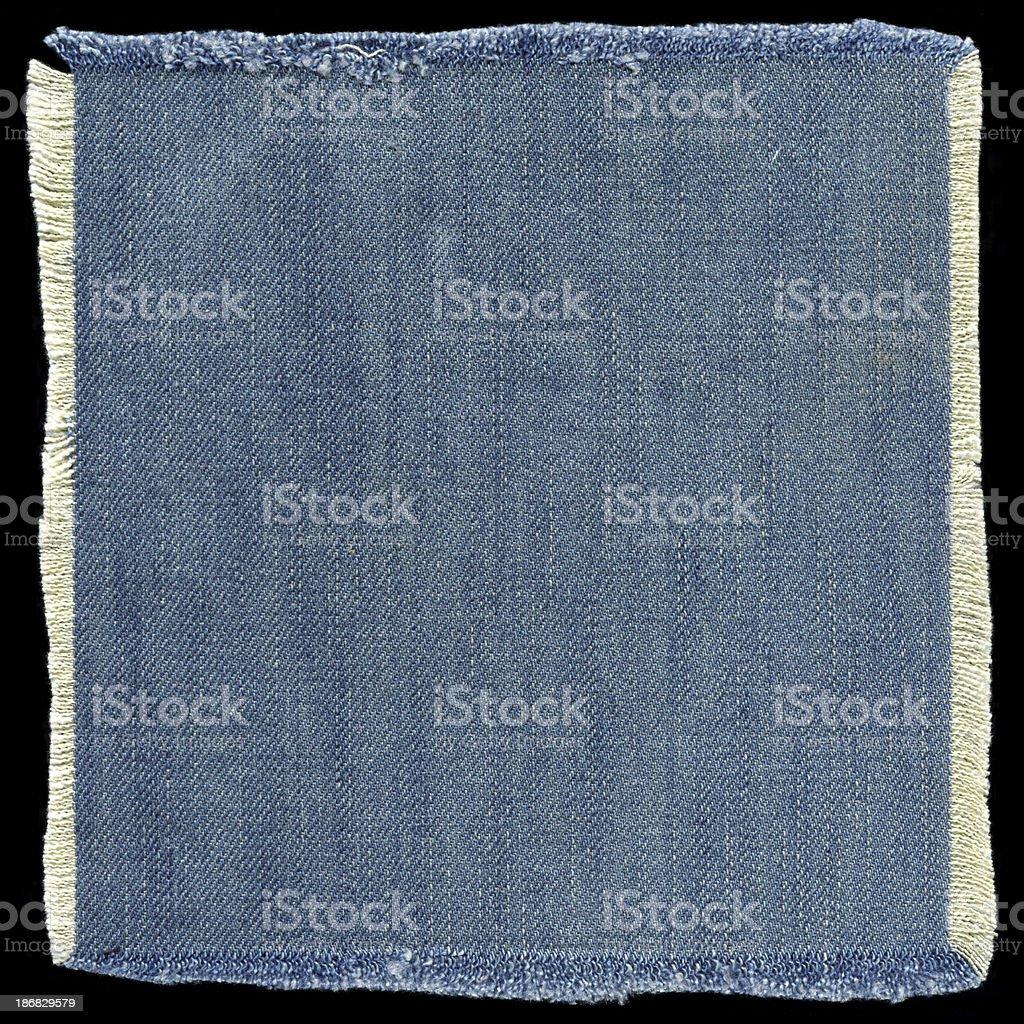 Jeans patch (XXXL) stock photo