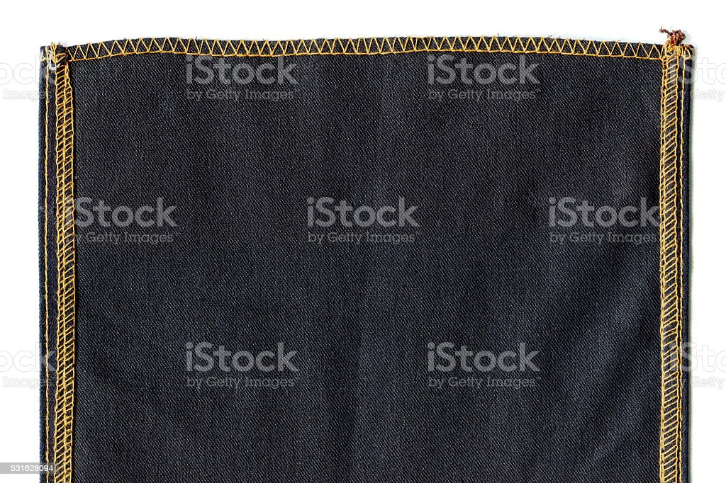 Jeans Sewing Texture stock photo