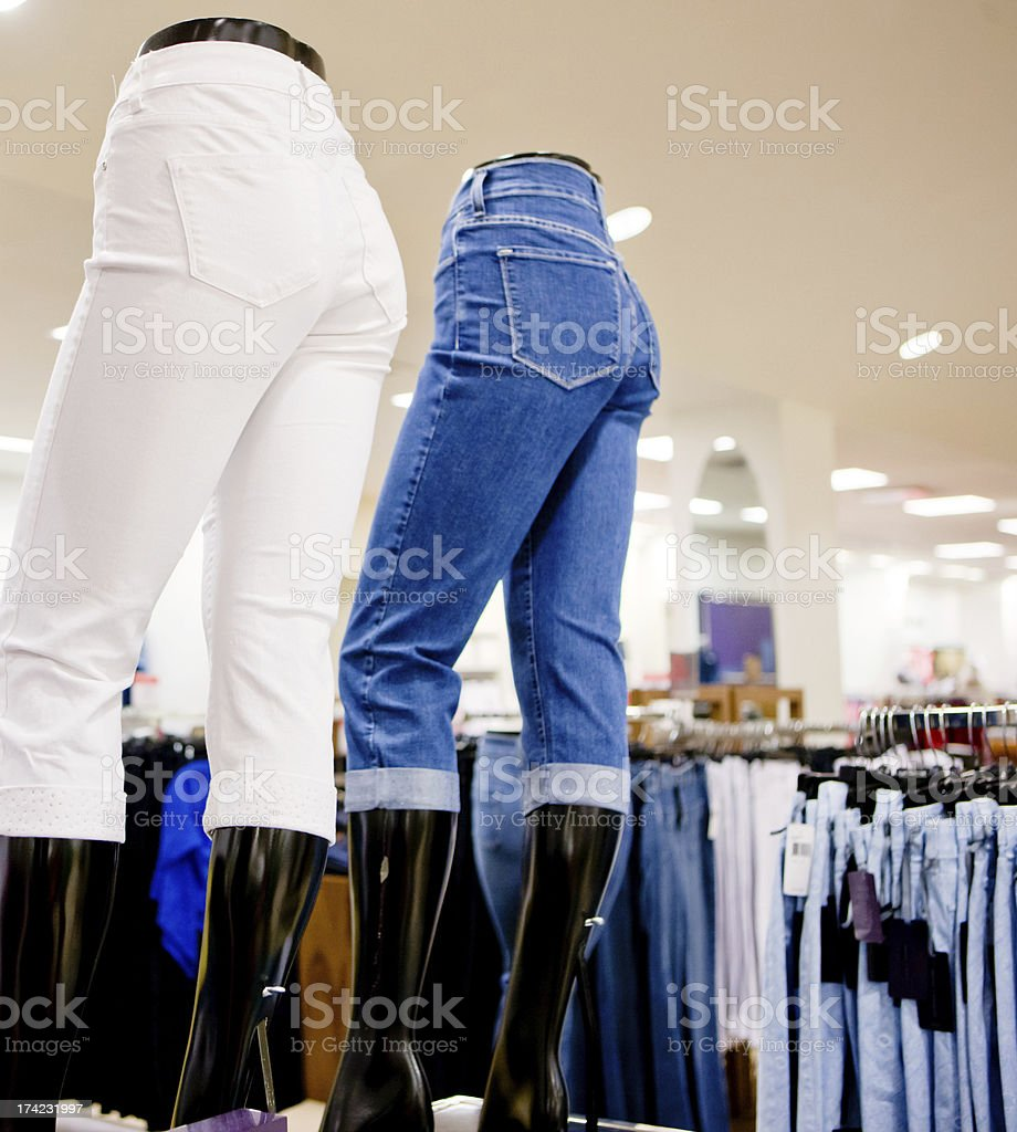 Jeans Store stock photo