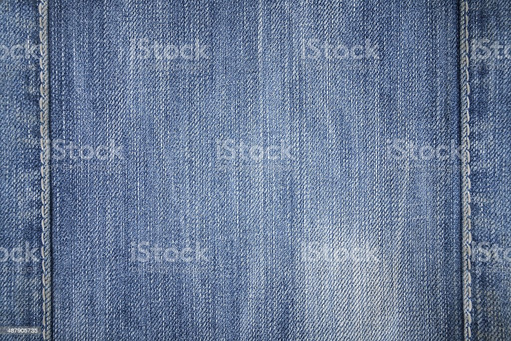 Jeans texture. Denim fabric background. stock photo