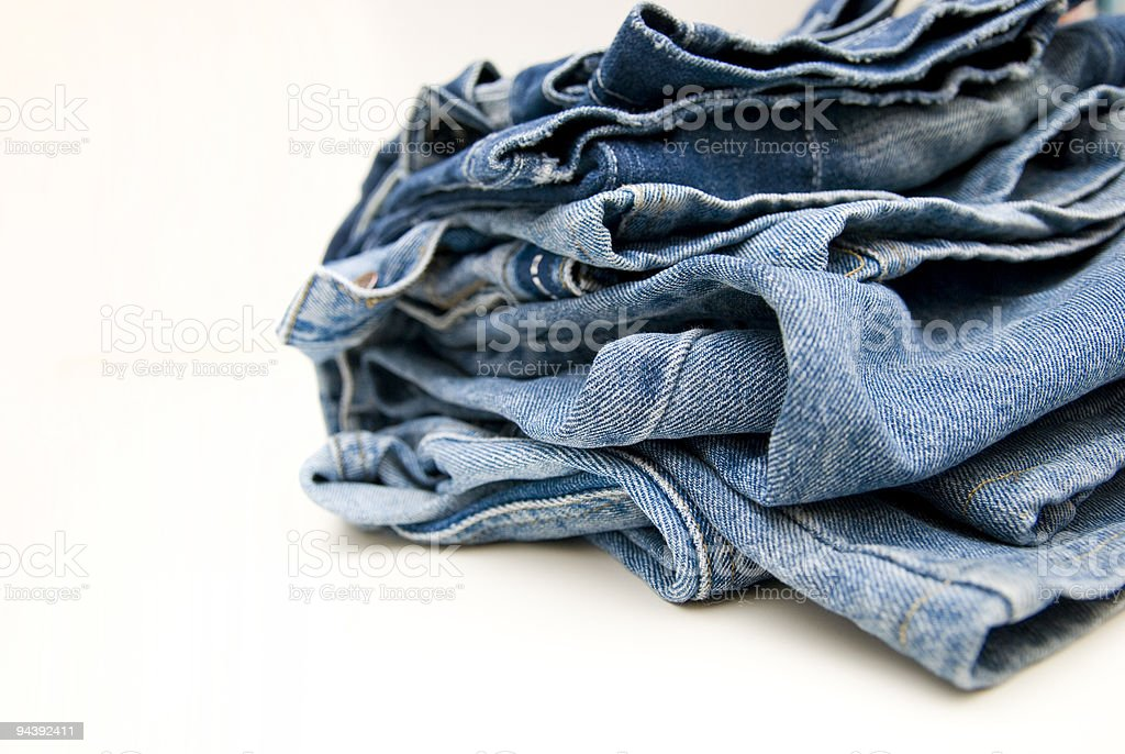 jeans  trouser  detail royalty-free stock photo