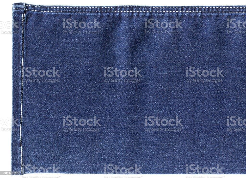 Jeans Trouser Leg stock photo